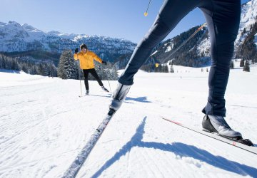 Cross-country skiing in Obertauern