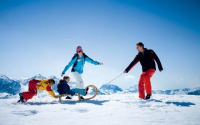 Tobogganing in your family holidays - Kinderland in Obertauern